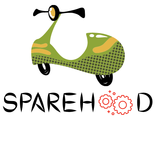 sparehood dark logo startling
